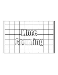 Counting Tables- Easy math worksheets teaching