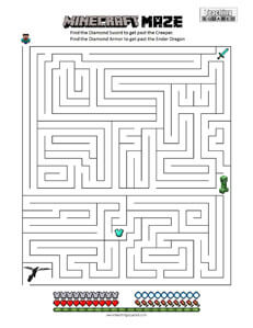 Minecraft Maze - Teaching Squared